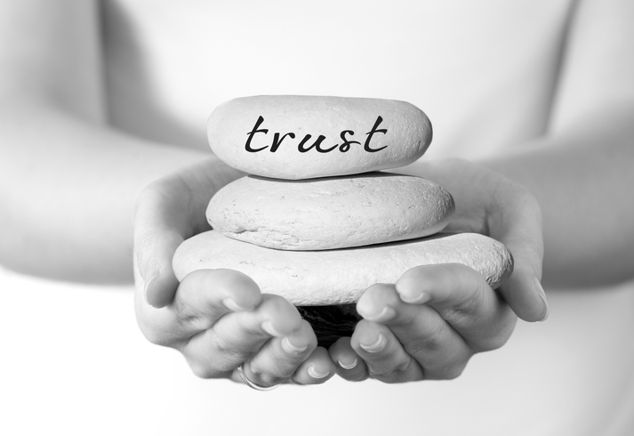 Trust is a tricky, delicate thing. (Thinkstock)